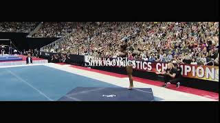 Simone Biles, the GOAT, claims 6th National Championship w/triple double