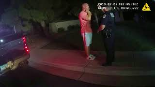 Watch police footage of Arizona Cardinals General Manager Steve Keim's DUI arrest