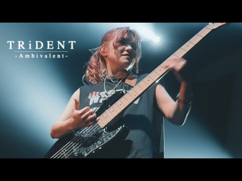 TRiDENT『Ambivalent』LIVE MUSIC VIDEO at Zepp Haneda