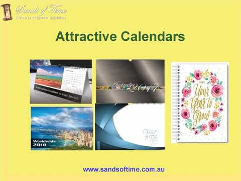 Buy Calendars Online from Sands of Time