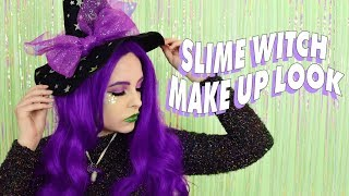 ♡ SLIME WITCH HALLOWEEN MAKE UP TUTORIAL ♡