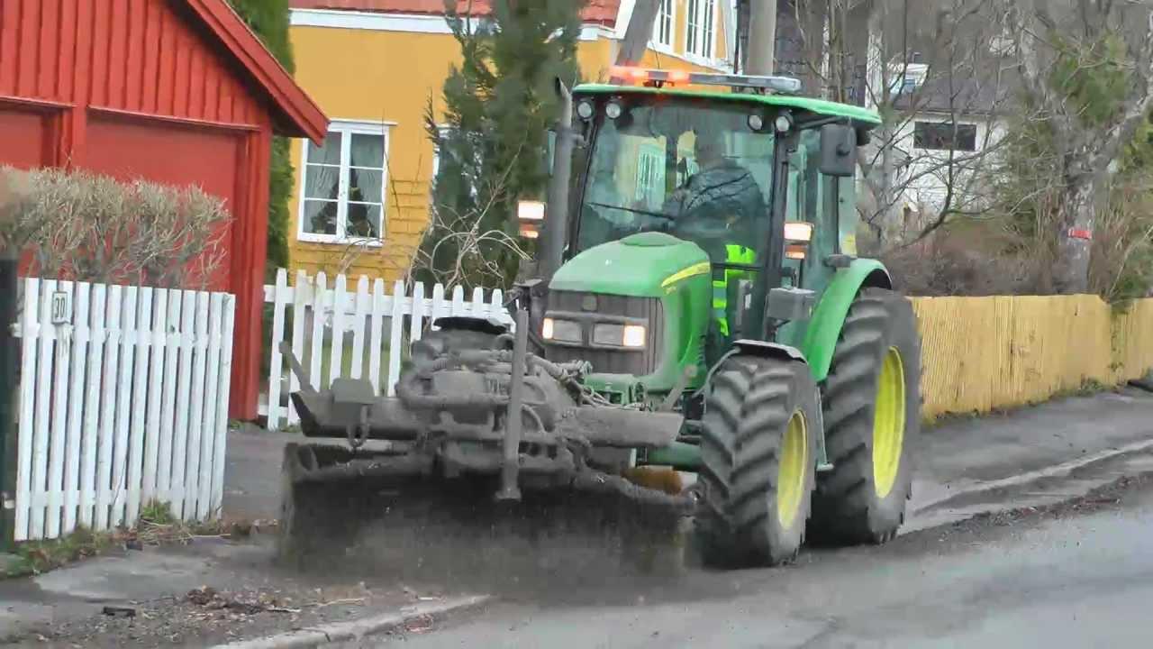 Spring Sweeping John Deere 5100r Wille 335b Volvo Fm