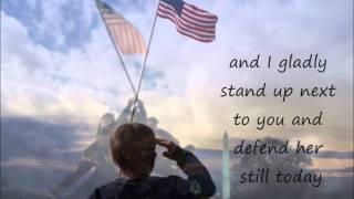 Lee Greenwood- God Bless the U.S.A. lyrics