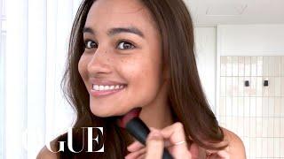 Victoria's Secret Model Kelsey Merritt's Guide to Freckles & Better Brows   Beauty Secrets   Vogue