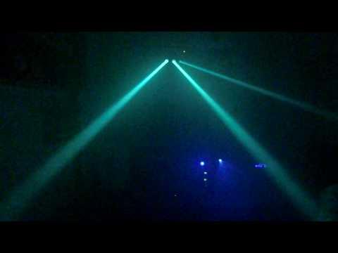 Leo's Stairville TLB-20 LED via DMX Pt.1.AVI