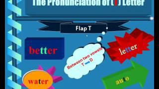 كيفية نطق حرف T في اللكنة الأمريكية Pronunciation