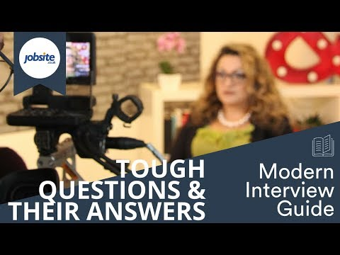 Ask the experts: Good answers to difficult interview questions.
