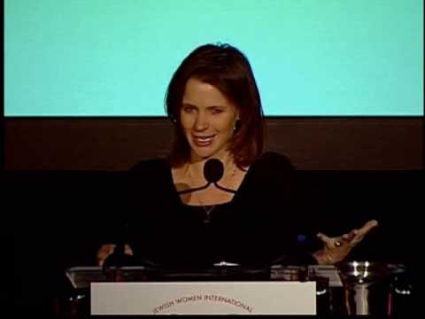 JJ Ramberg speaks at JWI's 2009 Women to Watch gala event ...