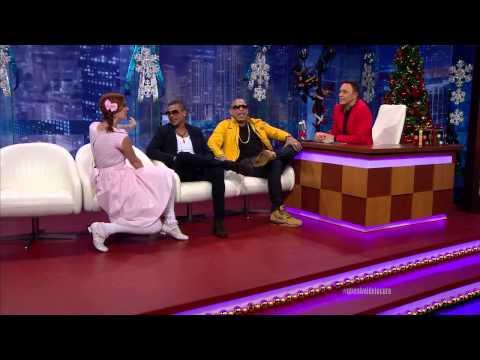Alexis Valdés entrevista a Gente de Zona en el especial Navidad