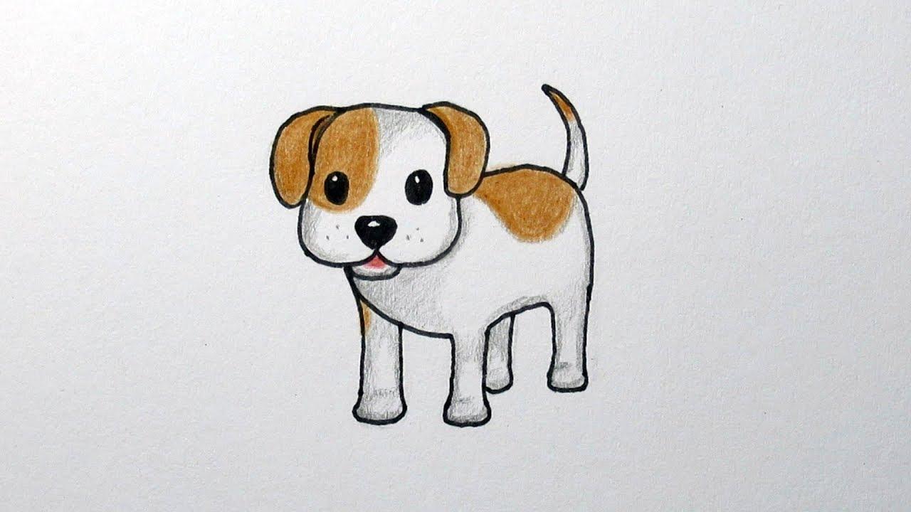 Tekenen Hondje