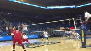 CSUN vs UCLA MVB Highlights (2/15/17)
