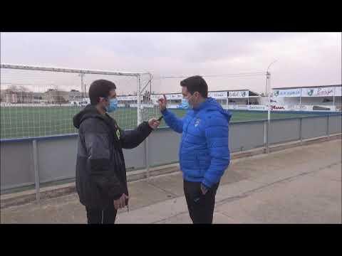 RUBÉN ZAPATER (Entrenador Utebo) SD Borja 0-0 Utebo CF / J 19 / 3ª División