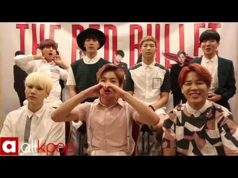 Exclusive interview with BTS for '2015 BTS LIVE TRILOGY IN USA Episode II. The Red Bullet' tour!
