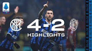 INTER 4-2 AC MILAN | HIGHLIGHTS | A comeback for the ages! 😍⚫🔵