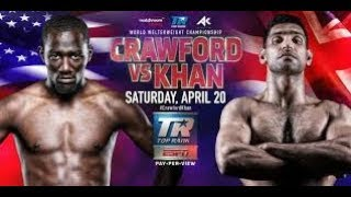 TERENCE CRAWFORD VS AMIR KHAN LIVESTREAM