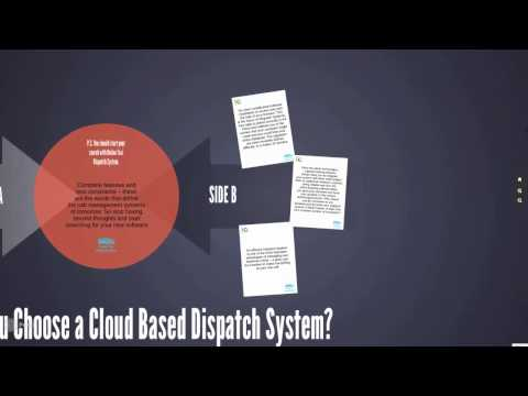 OTDS - Why Should You Choose a Cloud Based Dispatch System?