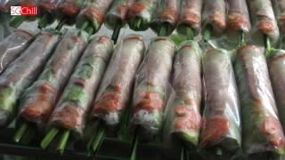 Phát thèm món gỏi cuốn tôm thịt chấm mắm nêm ở Sài Gòn