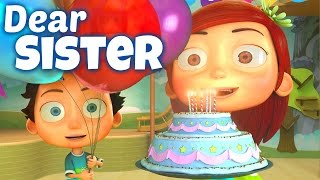 Happy Birthday Song to Sister