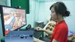 Phục Kích : Vợ Chồng Tiến Xinh Trai Cày Đêm - MG3 Thunder