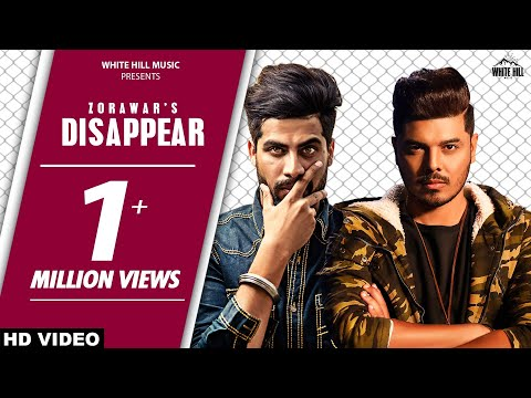 DISAPPEAR (Full Song) Zorawar - Singga - Cheetah