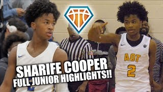 Is SHARIFE COOPER the CP3 of High School Basketball?! | Full Sophomore Highlights