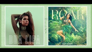 I Don't Roar (A Fuck) | Pitched Mashup | Dua Lipa & Katy Perry