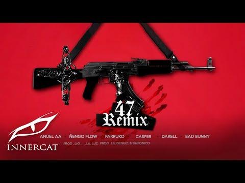 Anuel x Nengo Flow - 47 (Remix) ft. Bad Bunny, Darell,  Farruko, Sinfónico, Casper [Official Audio]