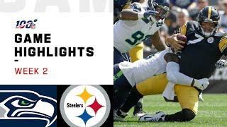 Seahawks vs. Steelers Week 2 Highlights | NFL 2019