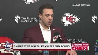 Brett Veach discusses Chiefs NFL draft