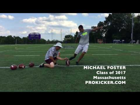 Michael Foster Ray Guy Prokicker.com Kicker Punter, Class of 2017