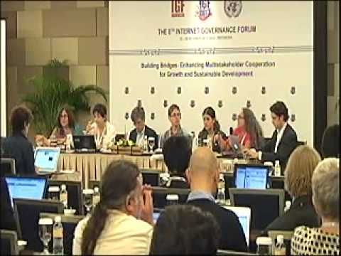 IGF2013: Technical standards and metrics for measurable impact of multi-stakeholderism