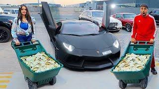 I Bought A Lamborghini Using Only $1 Bills ...