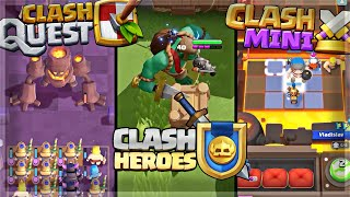 THREE NEW SUPERCELL GAMES 🍊
