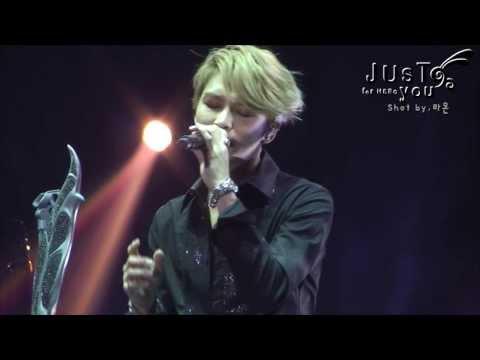 140111 KIM JAE JOONG 1st. Album Asia Tour concert in Gwangju - I have nothing