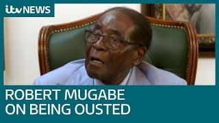 Robert Mugabe tells ITV News Zimbabwe 'must undo disgrace' of 'military takeover'   ITV News