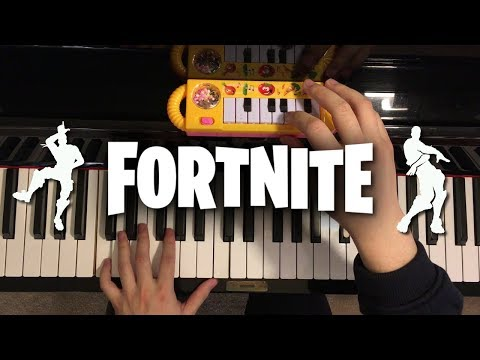 $1 Piano Vs. $10000 Piano - FORTNITE Dances