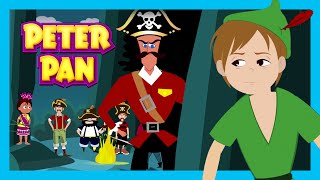 PETER PAN - BEDTIME STORY FOR KIDS | Full Story - Fairy Tales | Tia And Tofu Storytelling