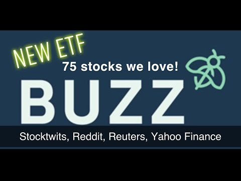 BUZZ around the BUZZ ETF Stock BUZ