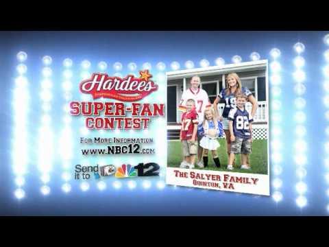 """Hardees """"Super Fan"""""""