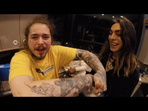 Paris Shadows Tour Vlog with Post Malone, 21 Savage, Tyler Grosso & more