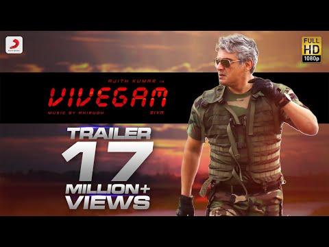 Vivegam official Tamil trailer starring Ajith Kumar, Kajal