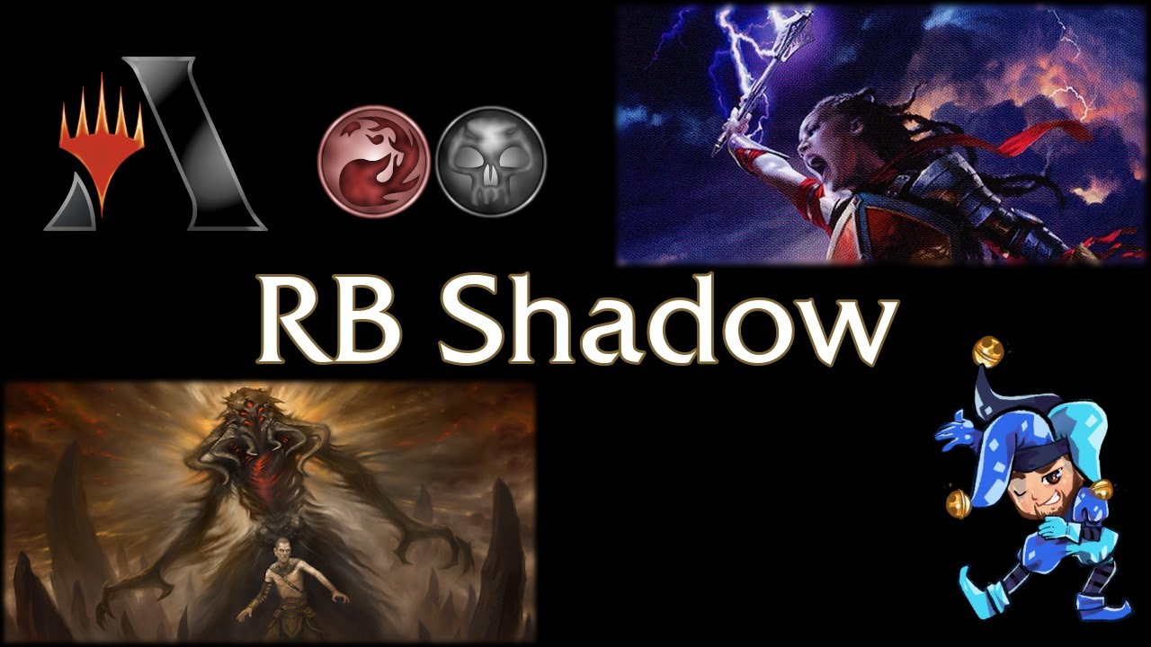 Black Red Death's Shadow - Historic Magic Arena Deck - April 7th, 2021