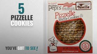 Best Pizzelle Cookies [2018]: Little Pepi's Pizzelles, Vanilla, 7 Ounce