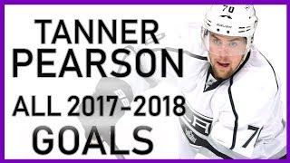 Tanner Pearson ALL GOALS From the 2017-18 Season