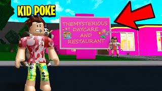 I Became KID POKE.. And I Exposed This Daycare's EVIL SECRET.. (Roblox)