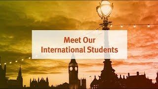 Meet Our International Students