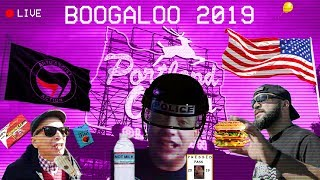 🔴 LIVE BREAKING 🔴 NEWS PORTLAND OREGON BOOGALOO 2019  AUGUST 17 ANTIFA PROUD BOYS PATRIOTS