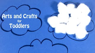 Arts and Crafts for Toddlers | Easy Craft Ideas for Preschoolers