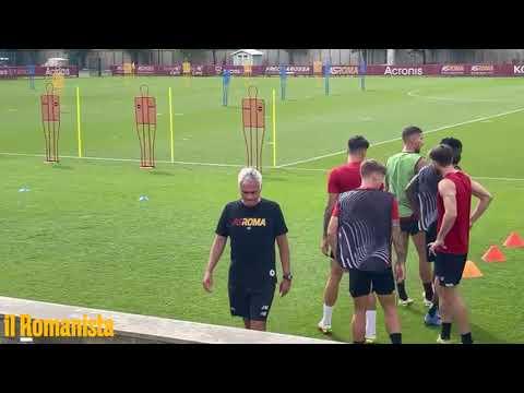 VIDEO - L'allenamento della Roma alla vigilia del Cska Sofia
