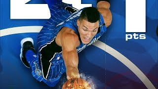 Aaron Gordon Career High 41 Points! Brooklyn Nets vs Orlando Magic 2017-18 Season
